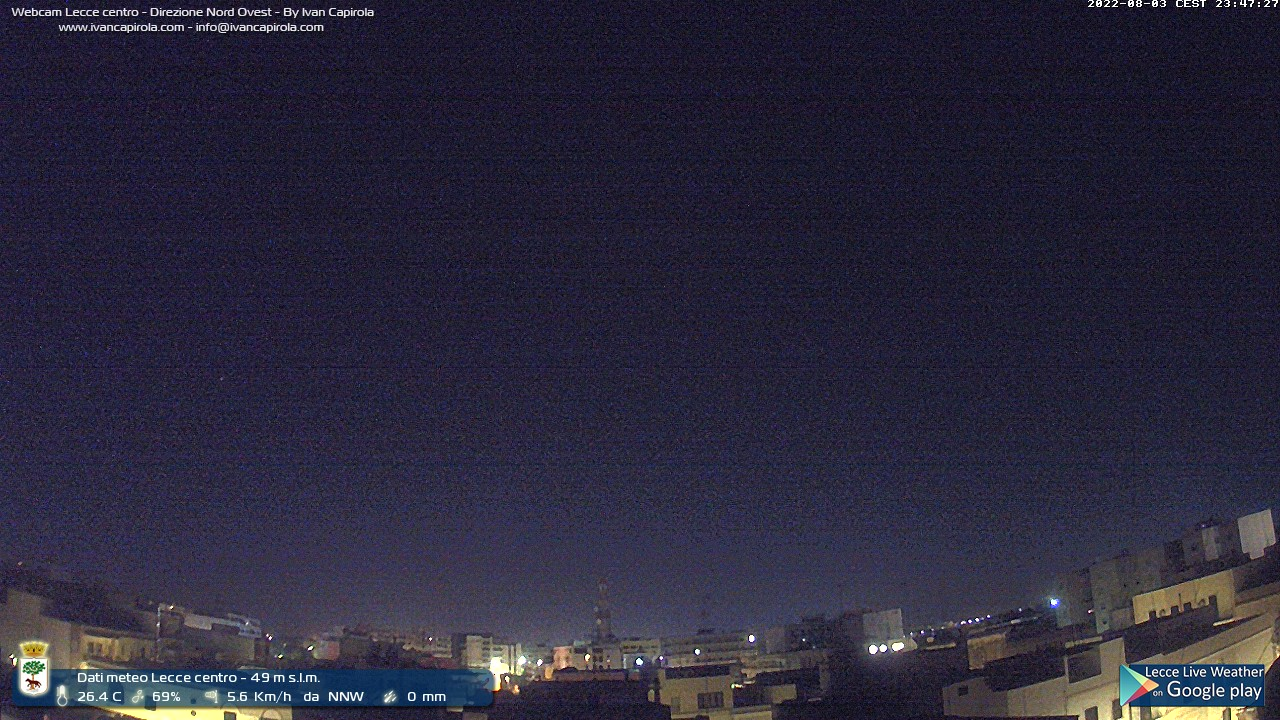 http://www.supermeteo.com/webcam-lecce.php